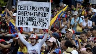 Trump dice que no quiere implicarse demasiado en Venezuela