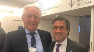 La CAC destacó el apoyo que el programa de estabilización económica obtuvo en Davos