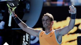 Nadal le ganó al griego Stefanos Tsitsipas y es finalista en Melbourne
