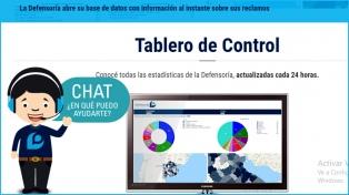 La Defensoría del Pueblo bonaerense abre su base de datos con información sobre reclamos