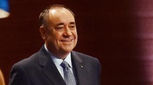 Detienen a Alex Salmond, ex ministro principal de Escocia
