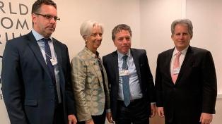Lagarde valoró los avances del programa económico argentino
