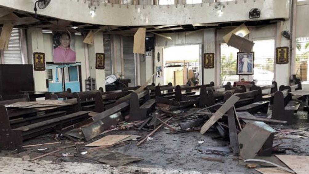 FILIPINAS: El Estado Islámico reivindicó el atentado contra una catedral que dejó 20 muertos