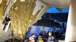 Al menos 15 muertos y 29 heridos por la caída de una pared durante una boda