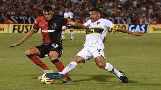 Boca levantó en el segundo tiempo y se trajo un empate de Rosario