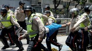 La ONU estimó que son 40 los muertos y 850 los detenidos en las últimas protestas