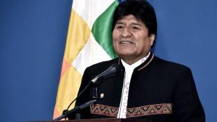 Evo Morales participó de la marcha por el sistema vial andino Qhapaq Ñam