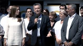 """Macri: """"Estamos dejando 10 años de desidia y de abandono"""""""