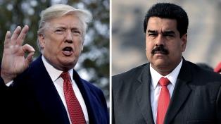 El chavismo y EEUU negocian la salida de Maduro