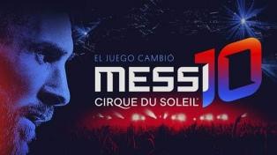 El Cirque du Soleil lanzará en octubre un show basado en la vida de Messi
