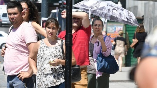 La ciudad de Buenos Aires tuvo la primera ola de calor del verano