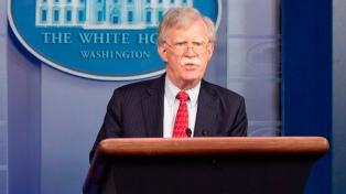 Trump despidió a John Bolton, su asesor de Seguridad Nacional