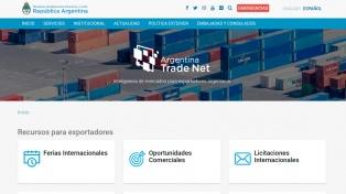 La Cancillería renovó el portal web de apoyo a las exportaciones