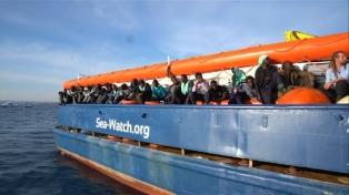 Impiden la salida de un barco de una ONG que rescata a migrantes en el Mediterráneo