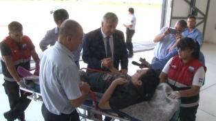 El músico accidentado en Bolivia regresó a Jujuy