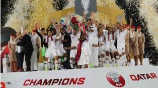 Qatar, rival de Argentina en la Copa América, gritó campeón asiático