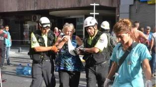 Piden peritajes por el incendio en el hotel porteño Las Naciones, que dejó cinco muertos