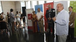 """El embajador francés y Hernán Lombardi inauguraron """"La Noche de las Ideas"""""""