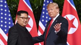"""Trump planea una posible """"tercera cumbre"""" con Kim Jong-un"""