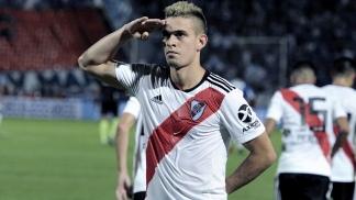 Rafael Santos Borré está suspendido, al igual que Milton Casco