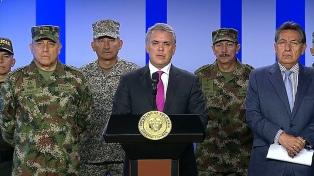 Duque informó de la muerte de un disidente de las FARC