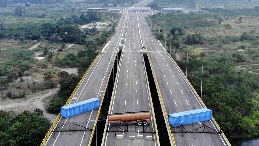 El Puente internacional Las Tienditas conecta Táchira (Venezuela) con Norte de Santander (Colombia)