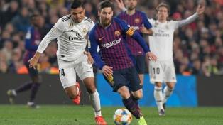 Barcelona cerró mejor el segundo tiempo pero igualó ante el Real Madrid