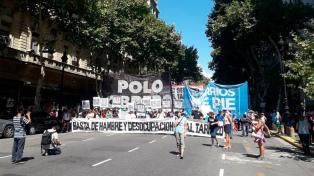 """El """"Sindicalismo Combativo"""" y Frente Piquetero vuelven a marchar a Plaza de Mayo"""