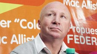 """Mac Allister asegura que perdió """"porque hubo un acuerdo entre la UCR y La Campora"""""""