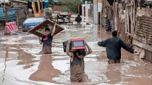 Al menos seis muertos a causa de las inundaciones en el norte