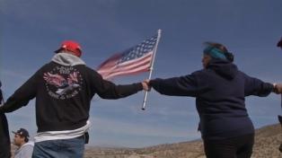 Norteamericanos piden la construcción del muro en la frontera con México