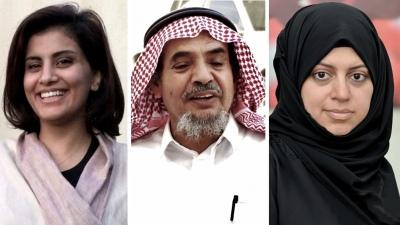Nominan al Nobel de la Paz a tres activistas saudíes encarcelados