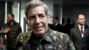 """Descartan una """"acción agresiva"""" contra Venezuela, dijo el general Augusto Heleno"""