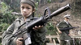 El reclutamiento de niños soldados se duplicó en el mundo desde 2012, según una ONG