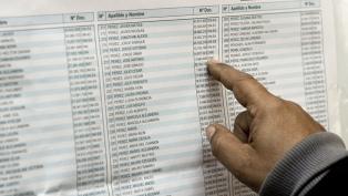 Los partidos políticos deben entregar hoy los modelos oficiales de boleta electoral
