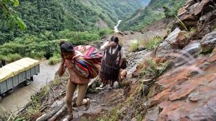 El Gobierno dio sus condolencias a Bolivia por las víctimas producidas tras los aludes