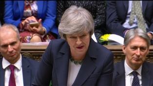 """May pidió """"unidad"""" para un Brexit con acuerdo"""