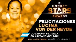 """Lucina Von der Heyde, la mejor """"jugadora en ascenso"""" del mundo"""