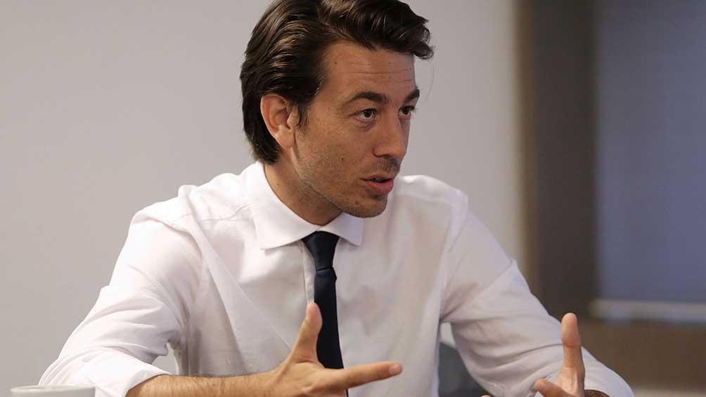 """""""Me metí en política porque veo que el país está en mal estado"""", dijo el precandidato. Crédito: Difusión Juan Sartori."""