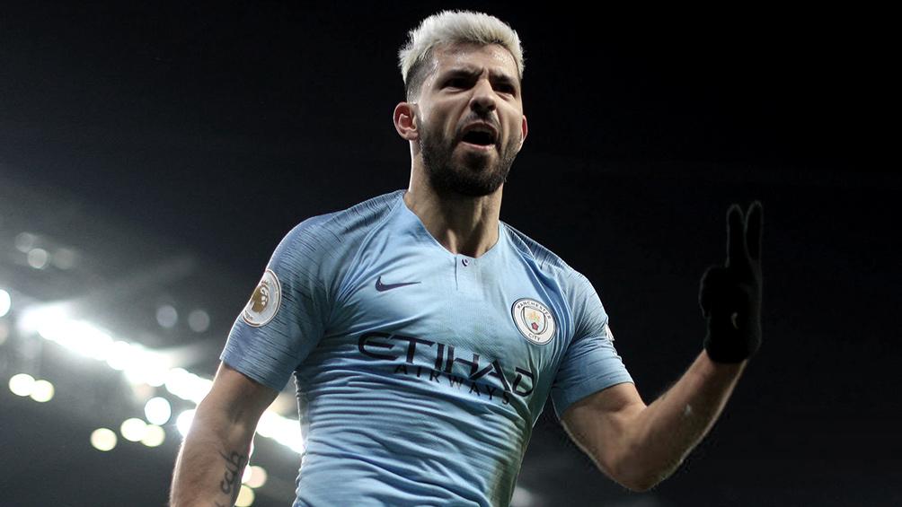 Manchester City, con gol de Agüero, se coronó tricampeón de la Copa de la Liga inglesa