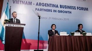 """""""Asia es la región que más puede ayudarnos a crecer"""", dijo Macri"""