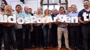 La liturgia peronista, en modo 2.0 en el Polideportivo Balestrini
