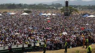 """Se realizó en Cúcuta el multitudinario concierto """"Venezuela Aid Live"""""""