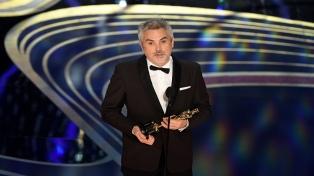 Alfonso Cuarón ganó por segunda vez el Oscar como Mejor Director