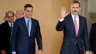 El rey inicia la ronda de consultas para proponer la reelección de Sánchez
