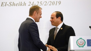 La Unión Europea y la Liga Árabe cierran su primera cumbre