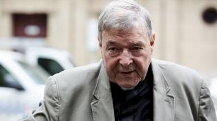 El cardenal Pell quedó detenido, mientras espera que se conozca su condena