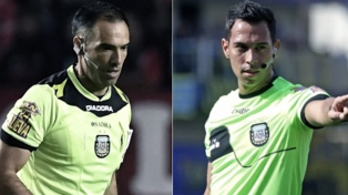 """Trucco y Tello, los dos árbitros para los partidos de Racing y el """"Halcón"""""""