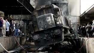 A causa del accidente ferroviario suman 22 los muertos en El Cairo