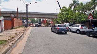 Reabrirán al tránsito la calle Honduras, cerrado por obras del viaducto San Martín